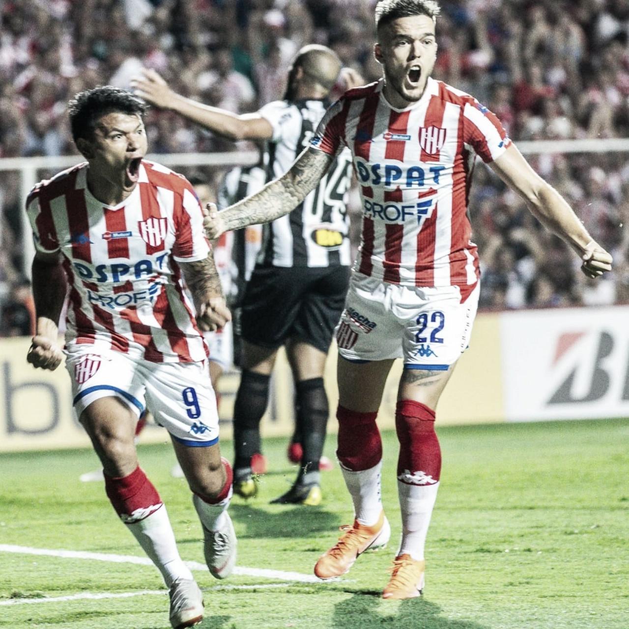 Unión le ganó a Atlético Mineiro y espera a River