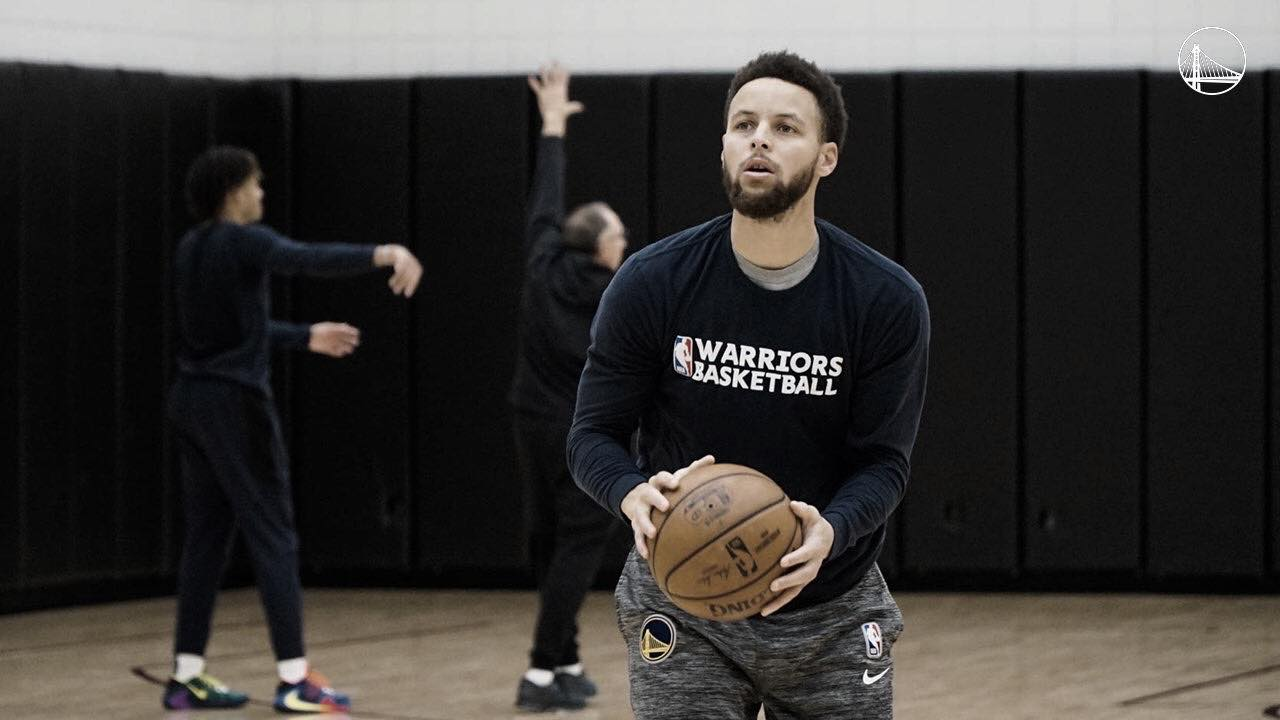 Steph Curry hopes to return by March