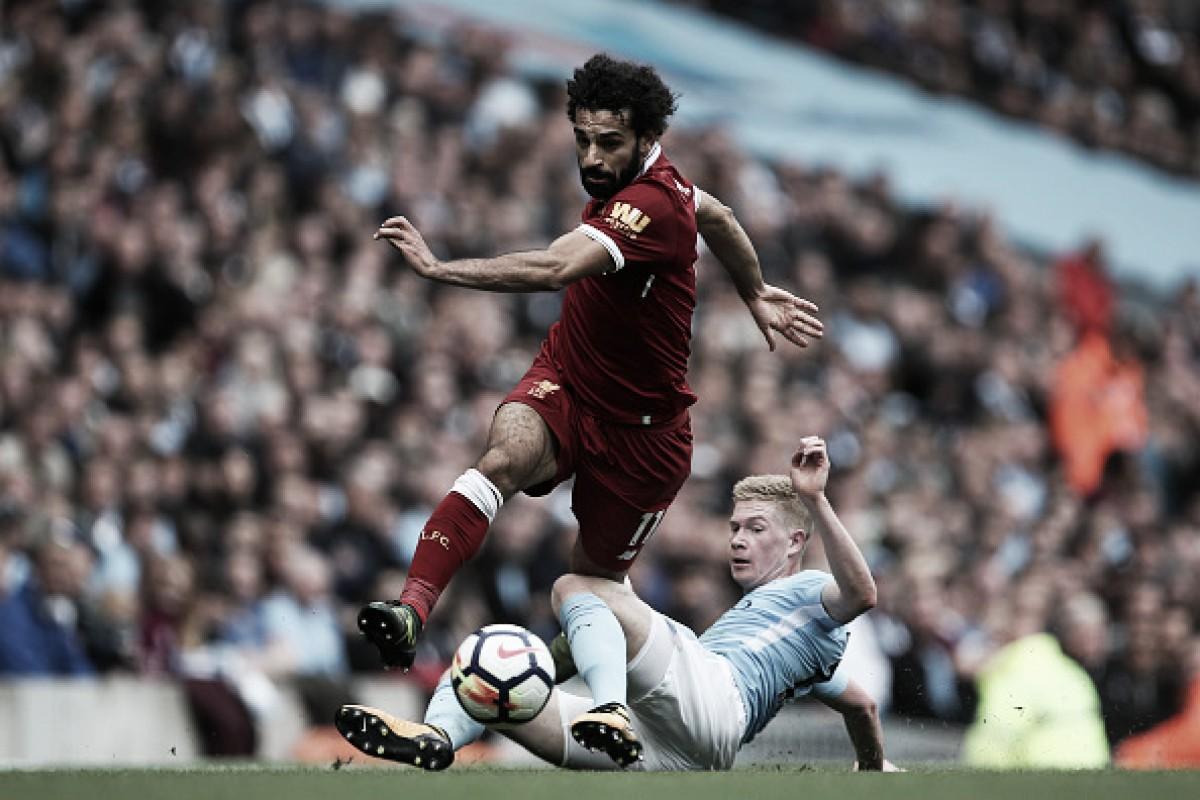 De Bruyne revela voto em Salah para prêmio de jogador do ano da Premier League