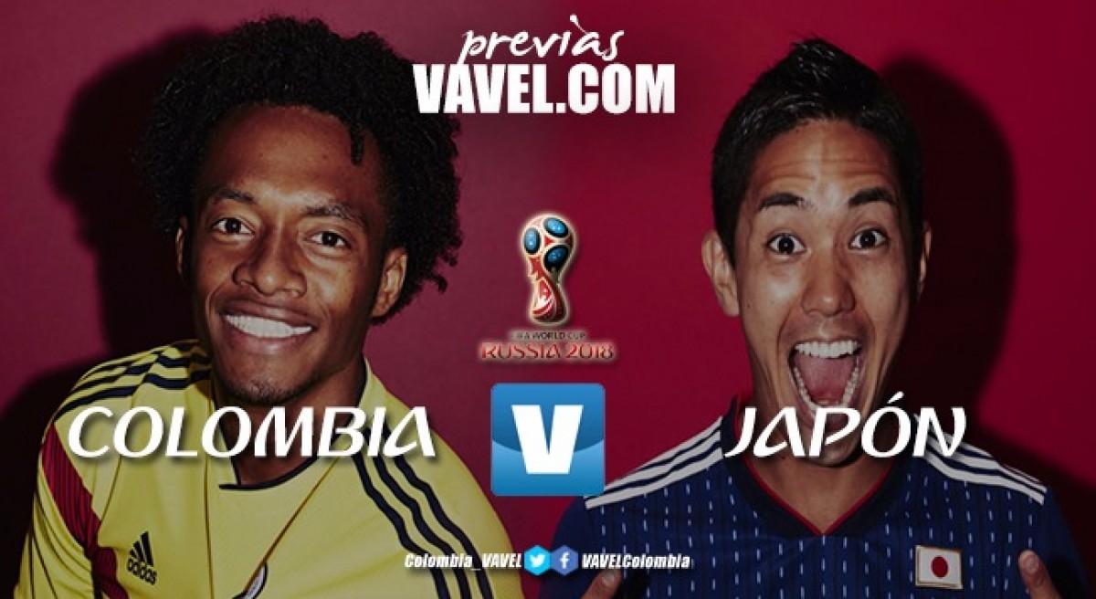 Colombia - Japón: a iniciar con pie derecho