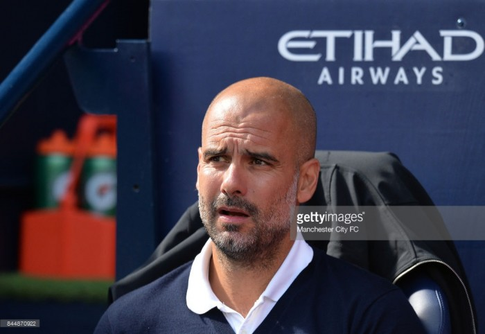 Pep Guardiola plays down Manchester City's chances of Champions League success ahead of Feyenoord test