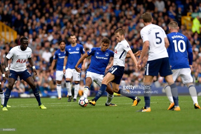 Kane nets brace against Everton to become Spurs' record EPL goalscorer