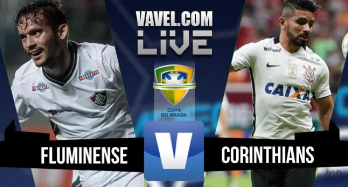 Resultado Fluminense x Corinthians na Copa do Brasil 2016 (1-1)