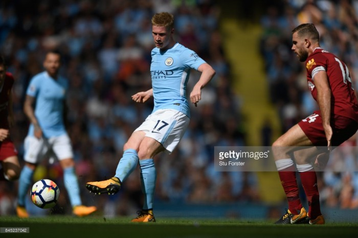 "Kevin De Bruyne states City need to ""win the big games"" as Belgian shines in Liverpool win"
