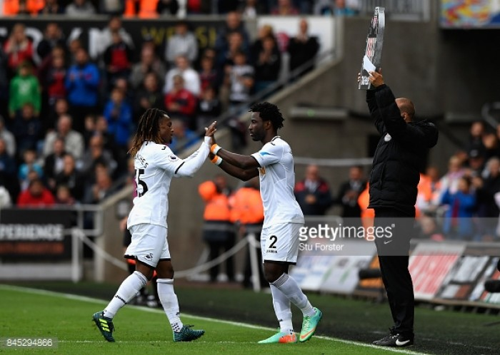 Renato Sanches and Wilfried Bony set to return for Swansea City