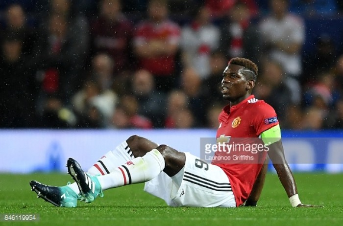 Man Utd boss Mourinho confirms Paul Pogba will miss Sunday's game vs Everton