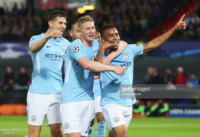 Feyenoord 0-4 Manchester City: Citizens kick-off Champions League campaign with demolition of dejected Dutch