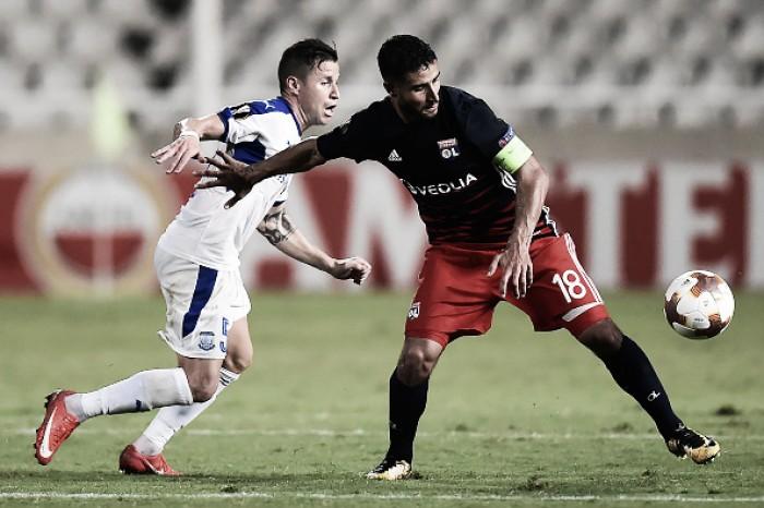 """Fekir lamenta empate do Lyon na Europa League: """"É como uma derrota para nós"""""""