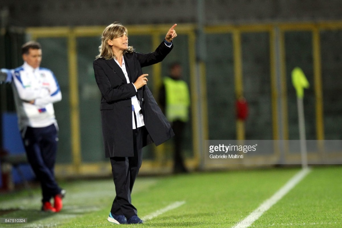 Milena Bertolini talks about understanding her players and a growing home league