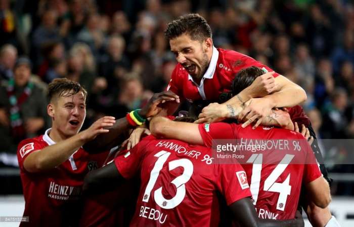 Hannover 96 2-0 Hamburger SV: Die Roten win again to top Bundesliga