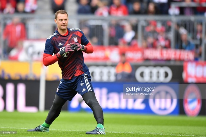 Bayern Munich set to lose Manuel Neuer for several months