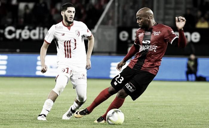 Guingamp marca no fim e impõe mais uma derrota ao Lille no Campeonato Francês