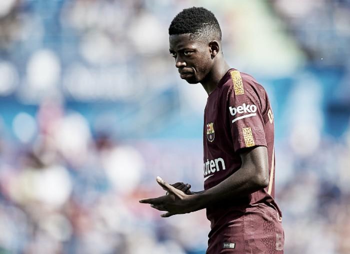 Equipe médica do Barcelona libera Dembélé para voltar a jogar