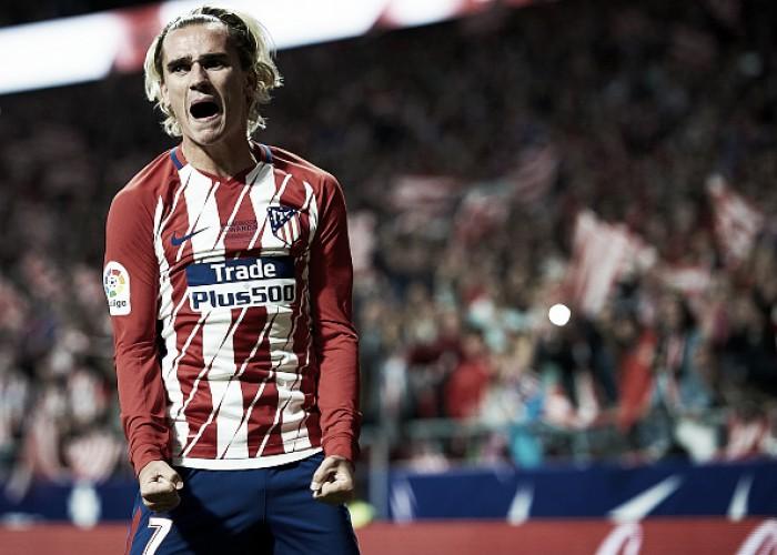 Com gol de Griezmann, Atlético de Madrid vence Málaga em estreia de seu novo estádio