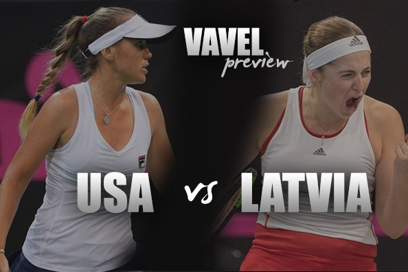 Fed Cup Qualifiers Preview: United States vs Latvia