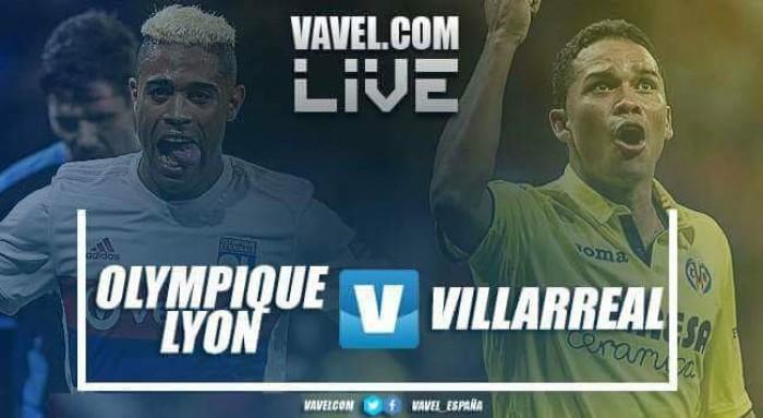 Resumen: Lyon vs Villarreal en Europa League 2018 (3-1)