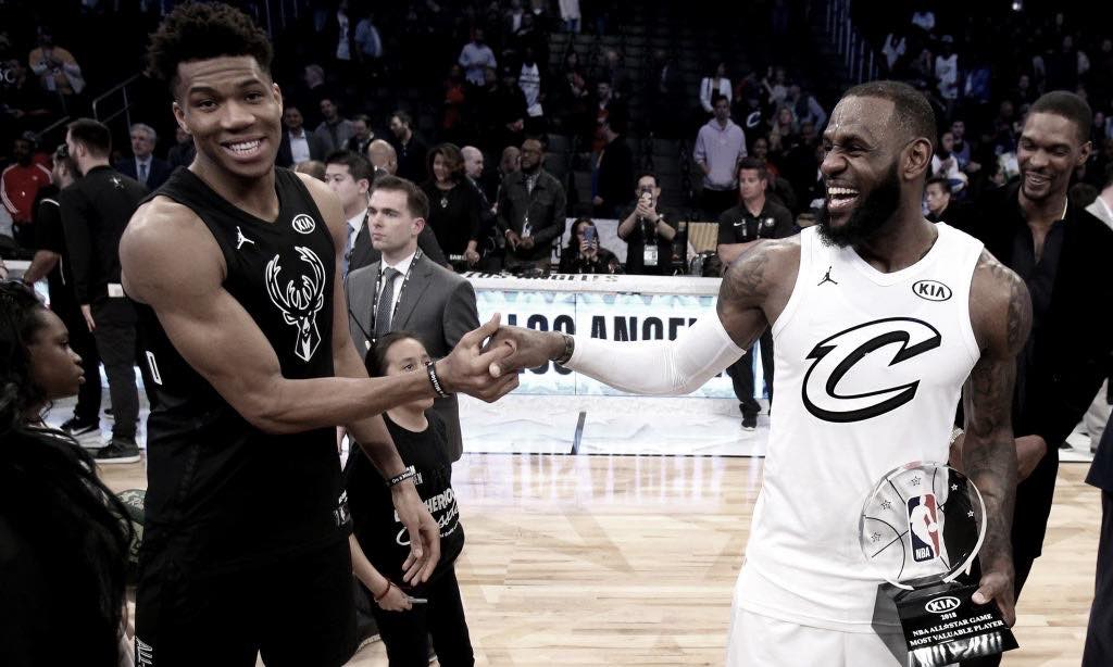 Giannis and LeBron make their All-Star Game selections