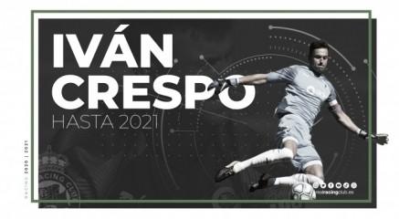 El Racing renueva a su capitán, Iván Crespo
