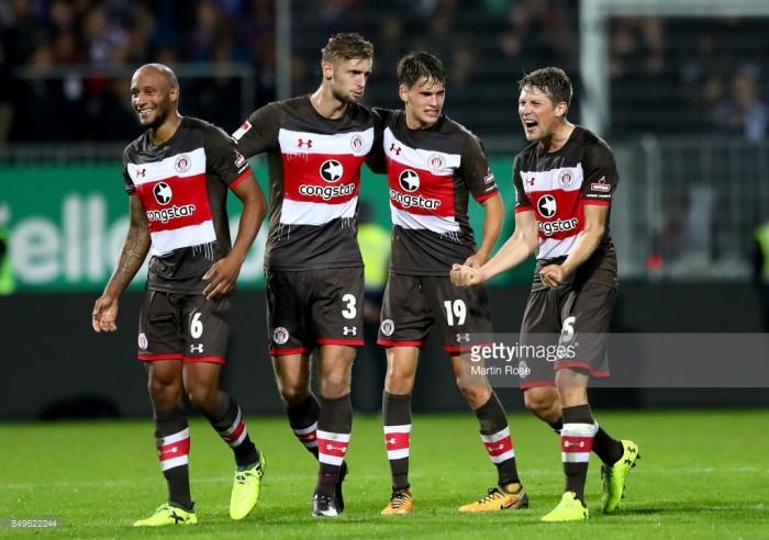 Holstein Kiel 0-1 FC. St Pauli: Johannes Flum ends Storks' run