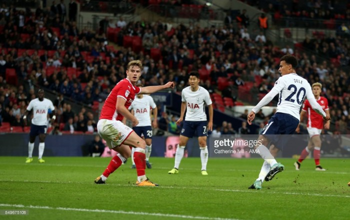 Tottenham Hotspur 1-0 Barnsley: Alli on hand to help Spurs avoid upset