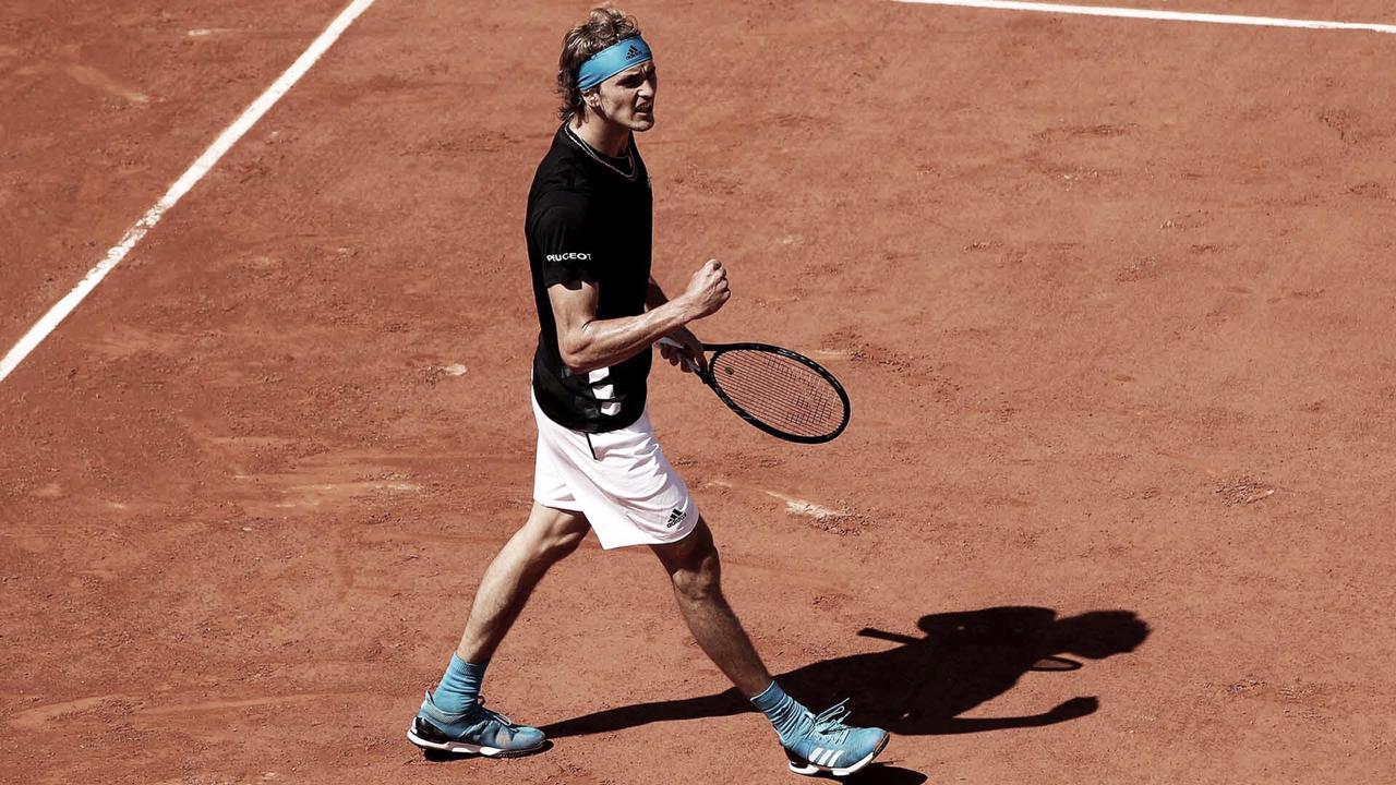 Zverev sofre, mas se recupera diante de Lajovic no set decisivo e está nas oitavas de Roland Garros