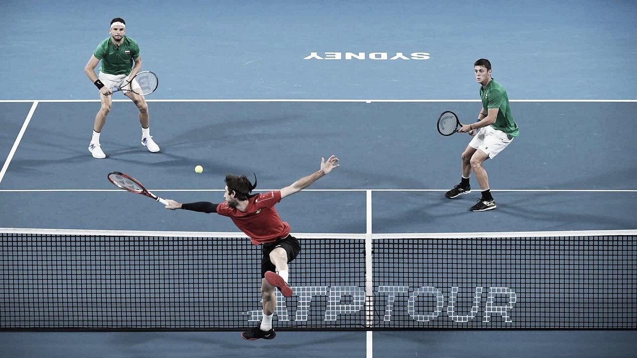 ATP Cup: Bélgica elimina Bulgária, e Grã Bretanha avança às quartas como líder do Grupo C