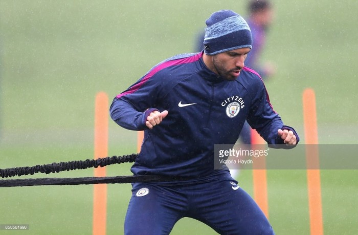 Manchester City handed major boost as Sergio Agüero returns to light training