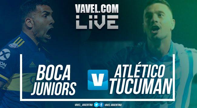 Resumen Boca Juniors 2-0 Atlético Tucumán en la Superliga