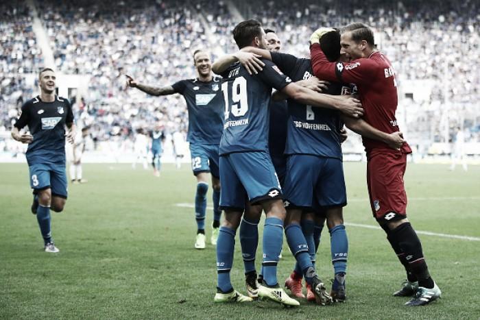 Hoffenheim supera Schalke 04 e assume provisoriamente a ponta da Bundesliga