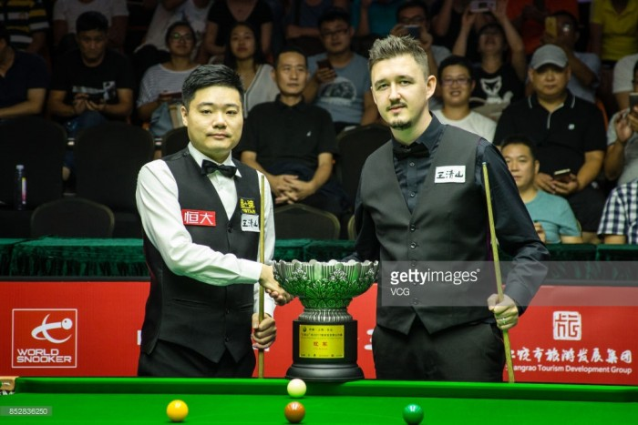 Ding Junhui cruises to his 13th ranking title at the World Open
