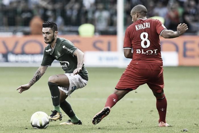 Saint-Etiénne busca empate com Rennes e sai da zona de Champions League