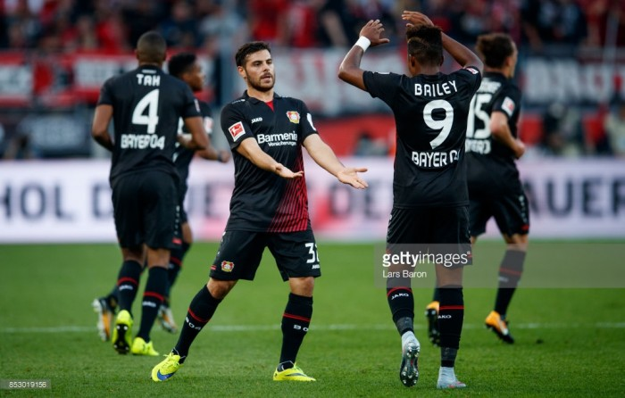 Bayer Leverkusen 3-0 Hamburger SV: Volland and Alario impress in another home win
