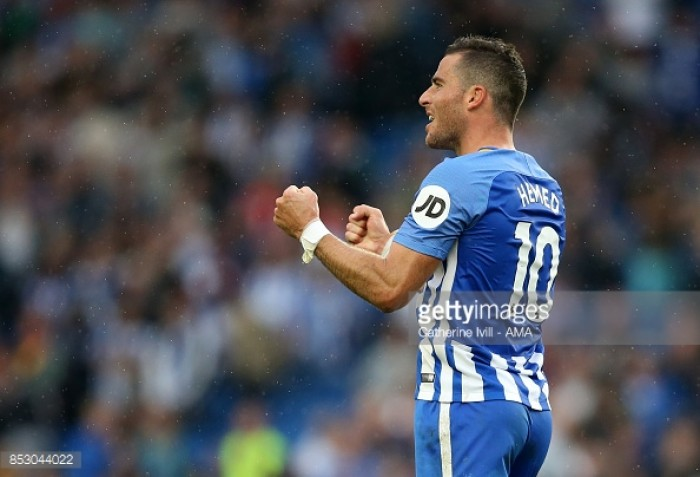 Tomer Hemed extends Brighton contract until 2019