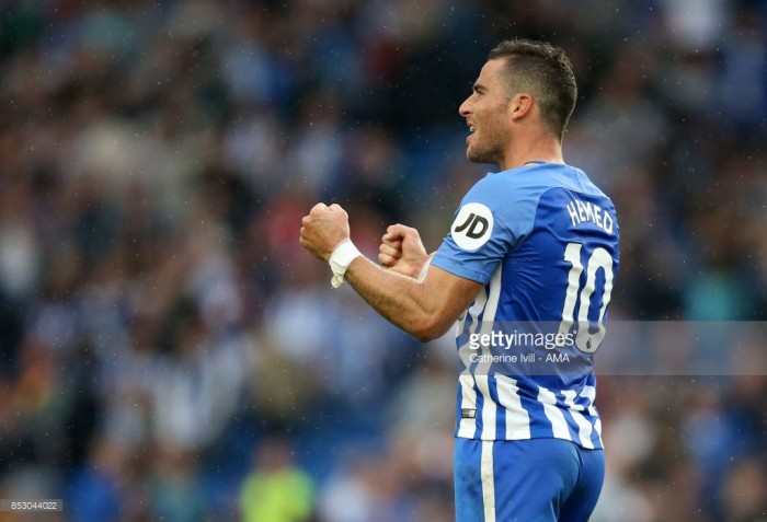 "Tomer Hemed ""delighted"" with opportunity to fire Brighton to crucial win"