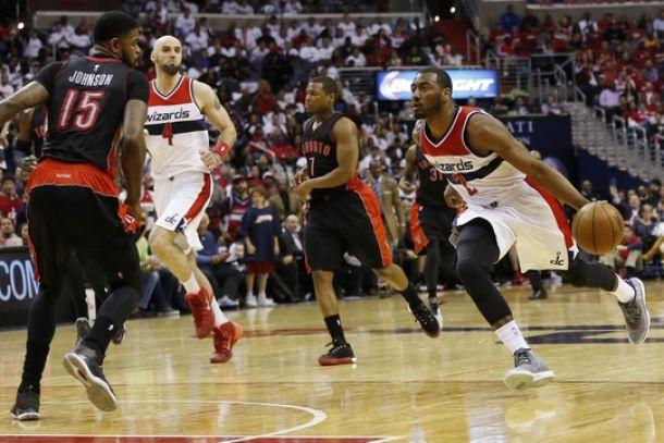 Score Toronto Raptors - Washington Wizards in 2015 NBA Playoff Game 4 (94-125)