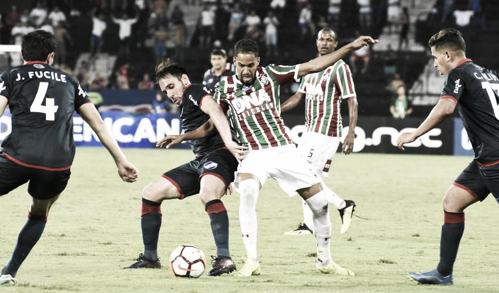 Fluminense joga mal e apenas empata em casa com Nacional-URU pela Sul-Americana