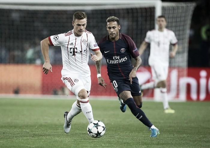Classificados na Champions, Bayern de Munique e PSG duelam pela liderança do Grupo B