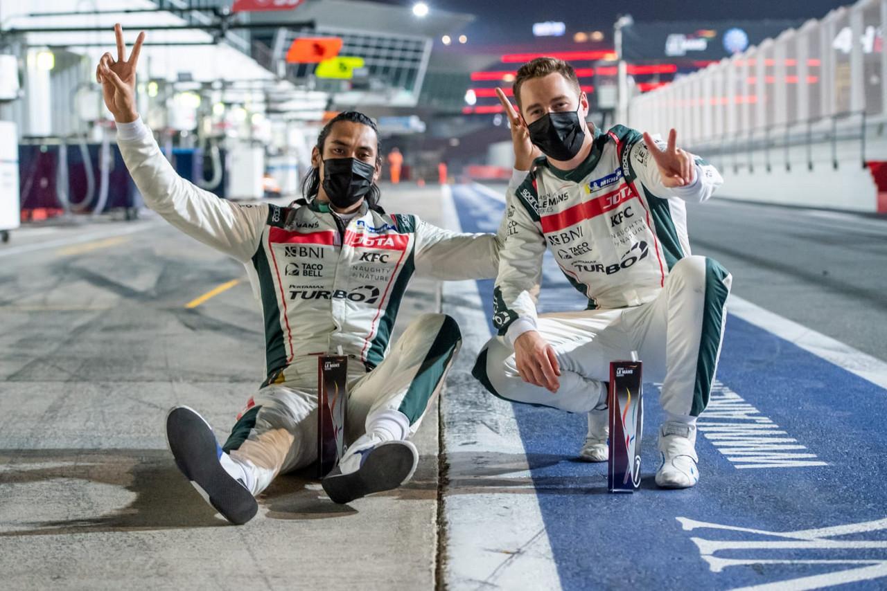 Sean Gelael/Stoffel Runner-up Di Dubai