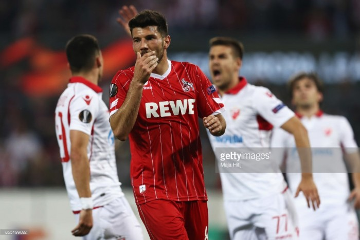 1. FC Köln 0-1 Red Star Belgrade: Billy Goats rue missed chances
