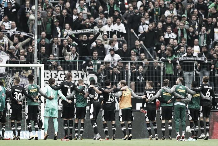 Gols no fim garantem vitórias de Mönchengladbach e Frankfurt na Bundesliga