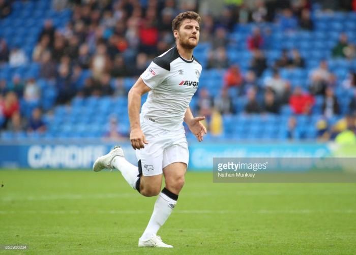 Derby County striker Chris Martin joins Reading on loan