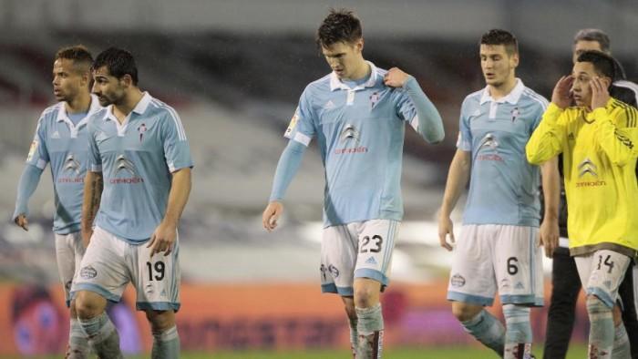 Celta - Sevilla, puntuaciones del Celta, vuelta de semifinales de la Copa del Rey