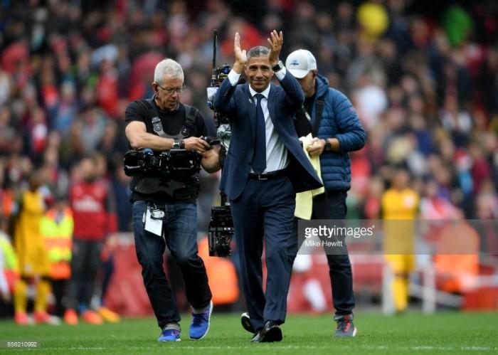Chris Hughton looks ahead to West Ham clash