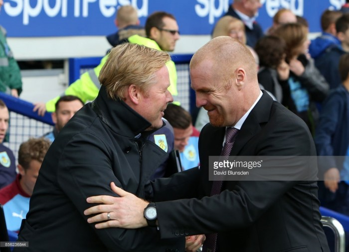 "Sean Dyche ""will continue to get on with the job"" at Burnley despite being linked with Everton"