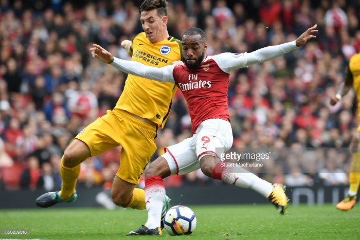 "Lewis Dunk: Brighton ""needed to show more quality"" against Arsenal"