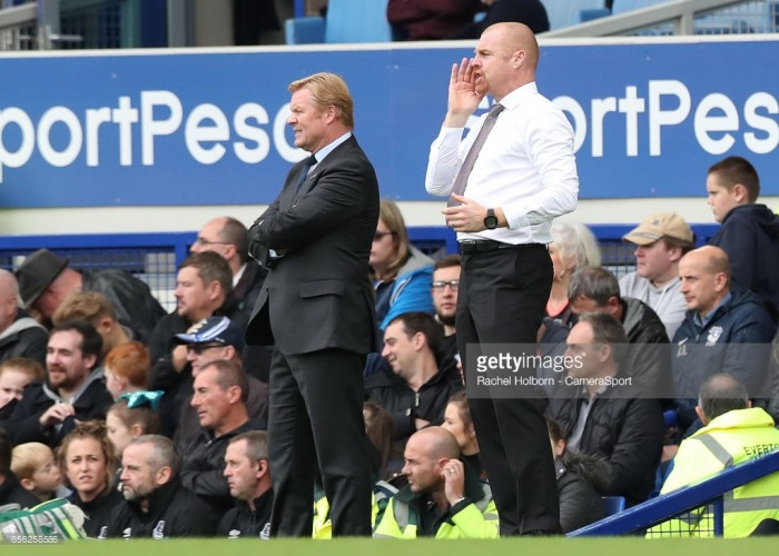 Sean Dyche rejects claims that Burnley are a 'long ball' side