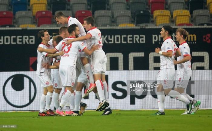 FortunaDüsseldorf 3-1 MSV Duisburg: DieFlingeraner return top after thriller