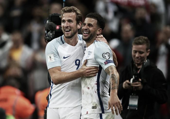 Kane decide, Inglaterra vence Eslovênia e confirma classificação à Copa do Mundo 2018