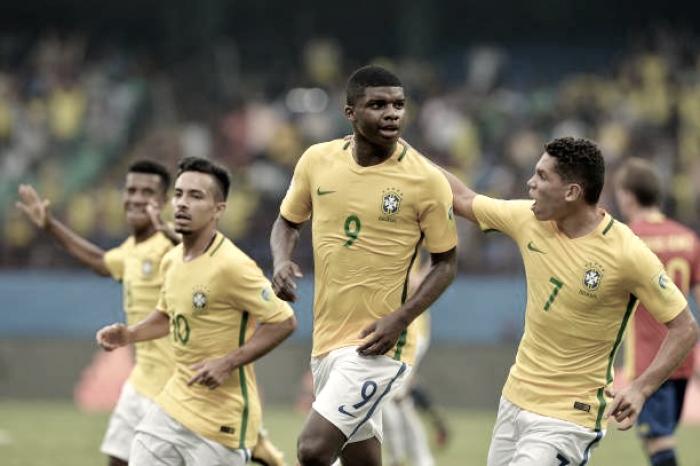 Após vencer Espanha na estreia, Brasil enfrenta Coreia do Norte pelo Mundial sub-17