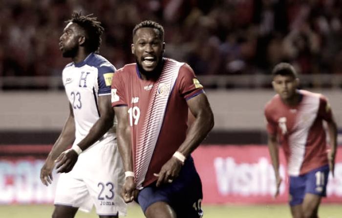 Com gol nos acréscimos, Costa Rica empata com Honduras e garante vaga na Copa do Mundo